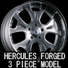 HERCULES FORGED 3 PIECE MODEL